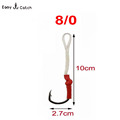 5pcs bag stainless steel carp fishing hook fish hook tackle hengelsport 10827 size 8 0