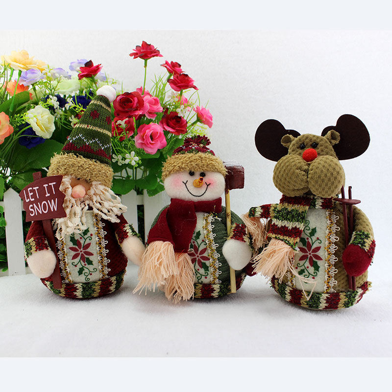 Christmas decorations gifts christmas tree ornaments doll for Christmas decoration suppliers