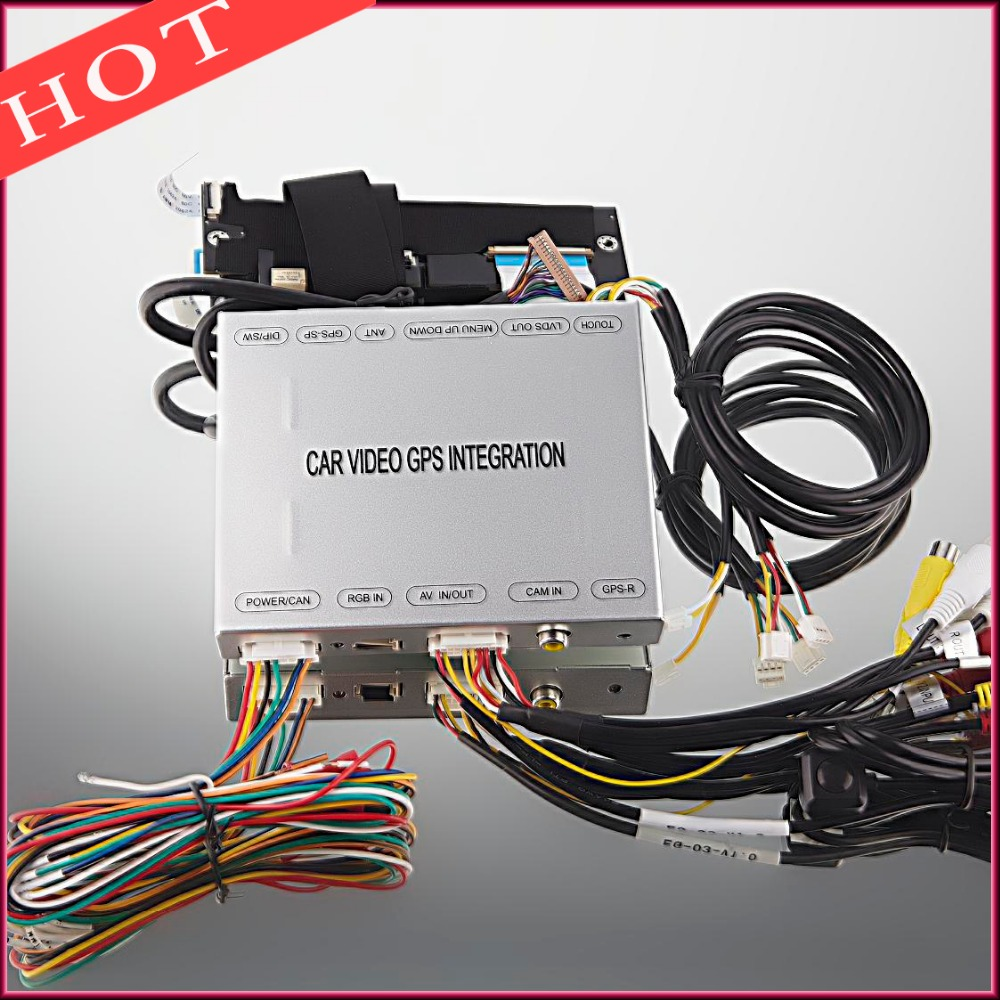 In-dash Car Stereo GPS Video Interface Rear Vew Camera Integration For Honda ODYSSEY 2016(China (Mainland))