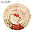 Gohide Cartoon Tableware Plate Ceramic Plate Dish 13cm Size In Standard Factory Provide Brand New Kitchen