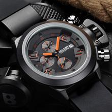 2016 MEGIR CHRONOGRAPH Function Mens Watches Top Brand Luxury Silicone Watches Men Megir 2002 Male Quartz Watch Erkek Kol Saati(China (Mainland))