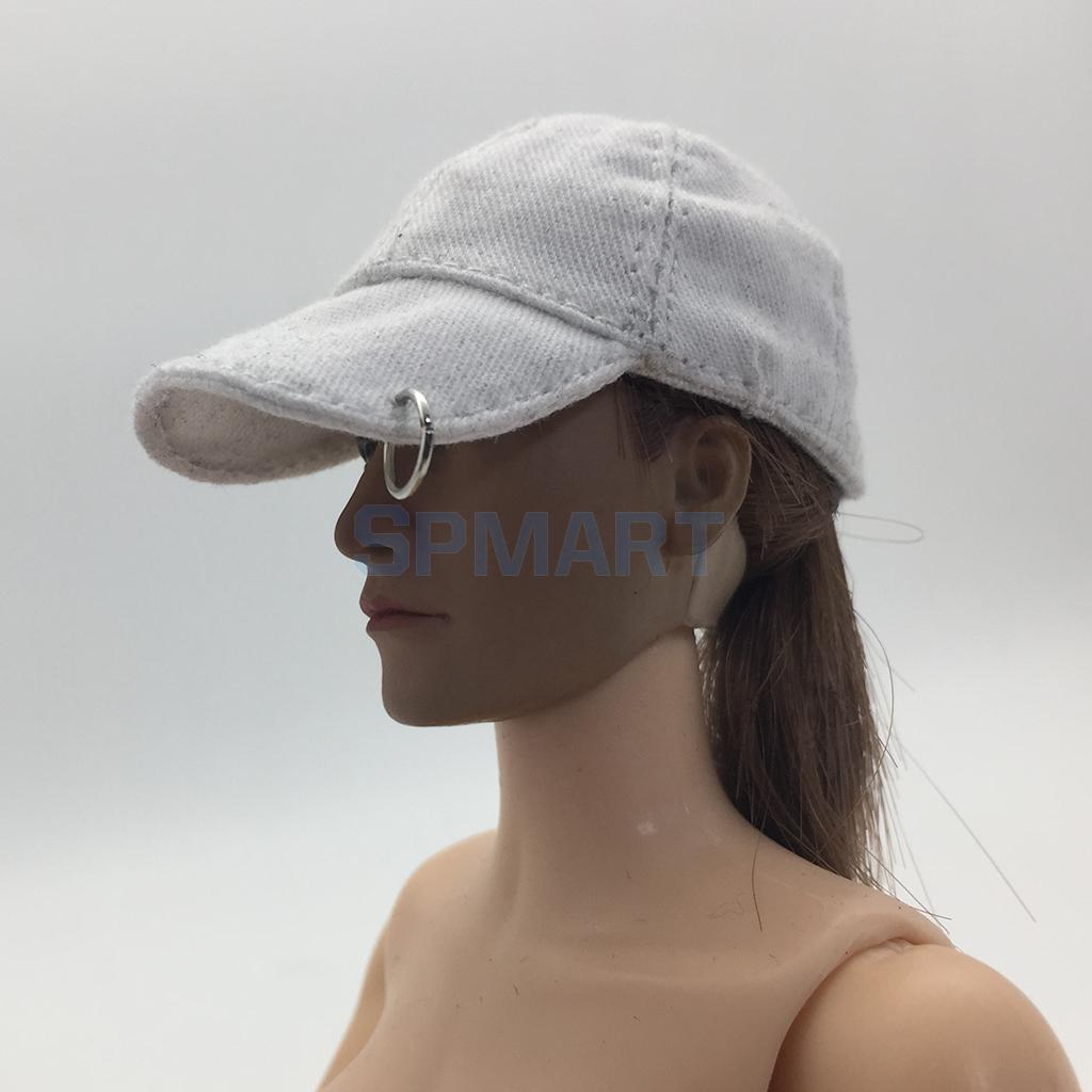 1/6 Scale Women Baseball Hat Female Cap for 12 inch Soldier Hot Toys Phicen Kumik Action Figure Doll Toy DIY Accessories