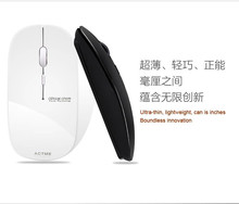 T5 laptop ultra-thin mute light hindchnnel wireless mouse(China (Mainland))
