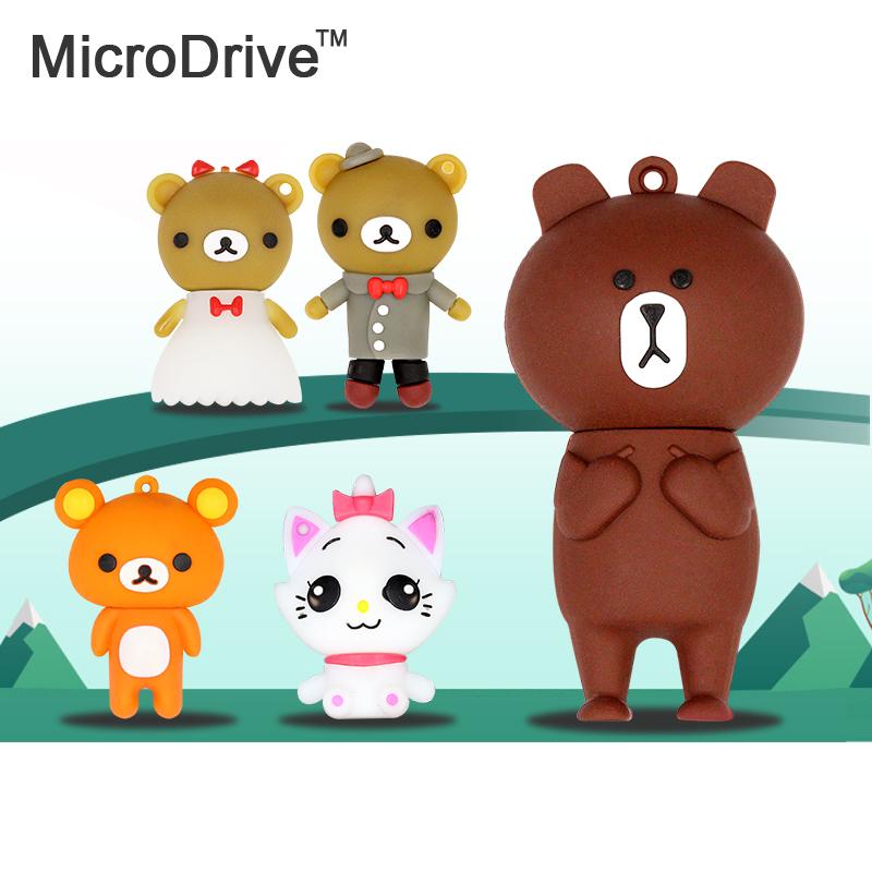 Cat Model cartoon USB Flash Drive Pen Drive Lovely Bear Flash Card 4gb 8gb 16gb 32gb 64gb Pendrive USB Stick(China (Mainland))
