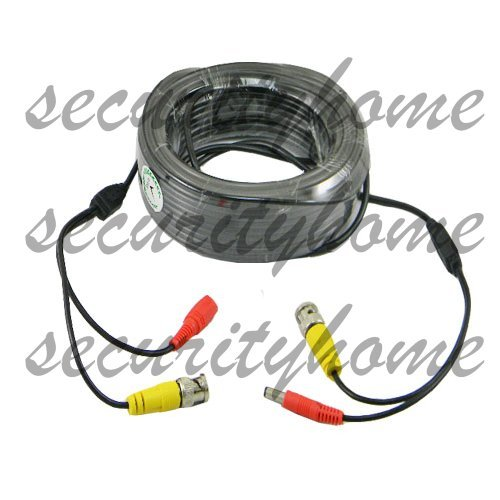 30M VIDEO & POWER CCTV CABLE USE FOR CCTV CAMERAS 98ft(China (Mainland))