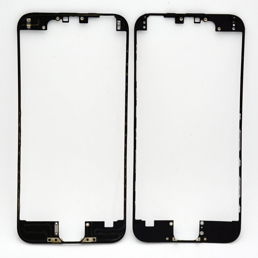1Front LCD Frame Hot Glue iPhone 6 6G touch screen Display Bracket Housing Middle Bezel White/Black - Cell Phone Repair store