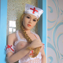 163cm Real Silicone Sex Dolls Japenese Sex Dolls with Nurse Cosplay Anime Sex Doll Big Breast