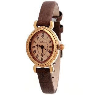 Lady's Wrist Watch Quartz Hours Best Fashion Kerean Bracelet Brand Leather Clock Oval Retro julius JA567