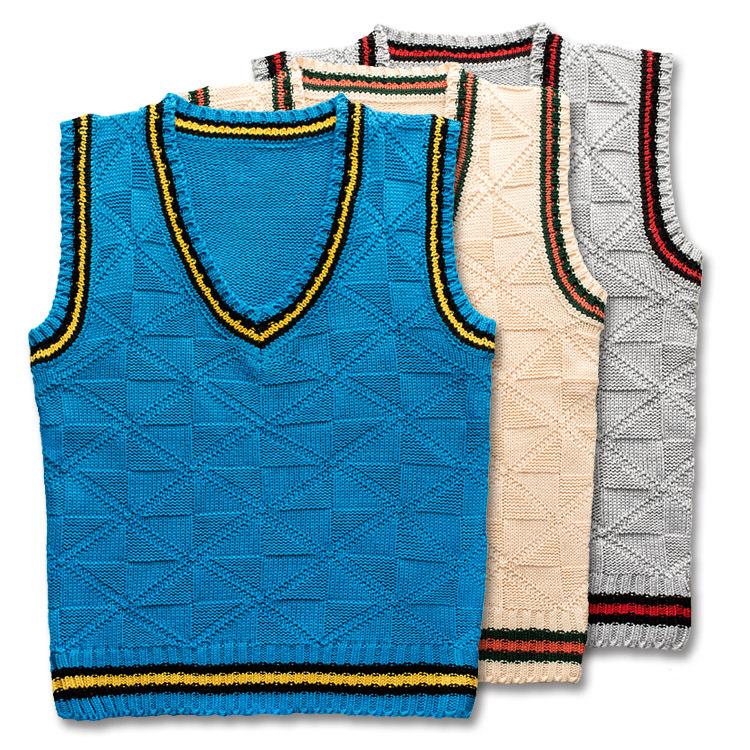 Вязаный свитер для мальчик 32