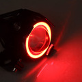 125W Motorcycle Headlight Motorbike spotlight 3000LM Upper Low Beam Flash Motos U5 LED Driving car Fog