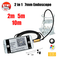 Armgroup Golden 7MM OTG USB Android Camera Snake Endoscopic Android Phone Camera 2m 5m 10m Car