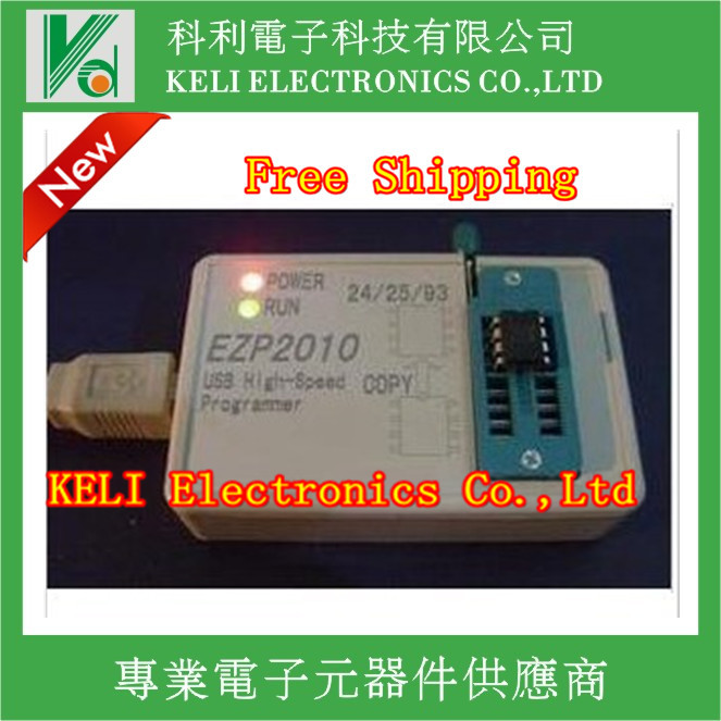 product free shipping EZP2010 high-speed USB  Programmer  adapter support 24 25 93 EEPROM 25 flash bios chip