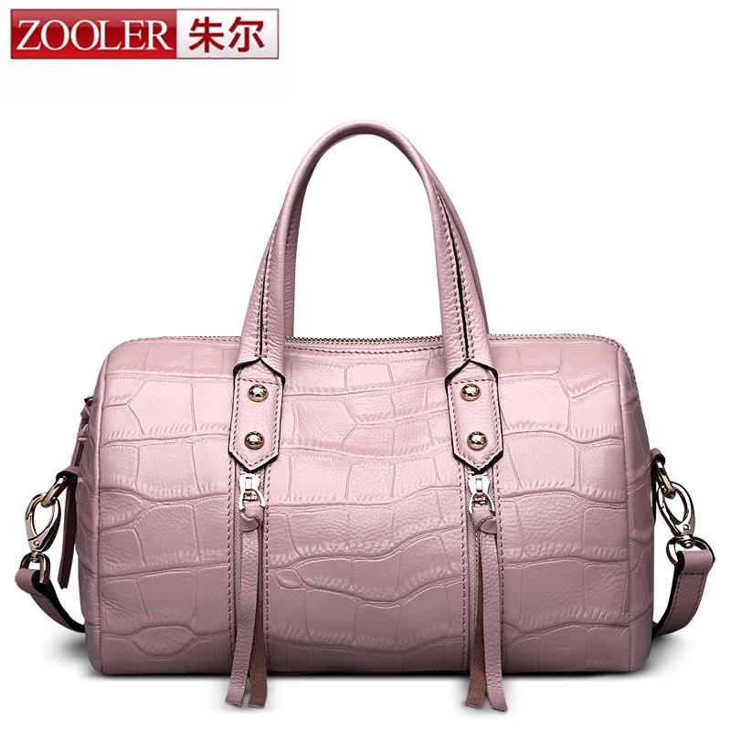 Presell ZOOLER 2016 woman bag bags handbags women famous brands luxury genuine leather bag stylish bolsos#1201<br>