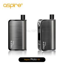 100% Original Aspire Plato 50W TC Kit Temp Control Box Mod 4.6ML with 0.4ohm Two Juice Ports Filling Aspire Plato 1Pcs/Lot