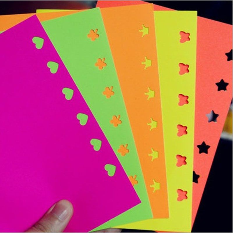 10 sets lot diy paper color home decor craft scrapbooking paper origami lucky star heart shaped Home decor crafts with paper