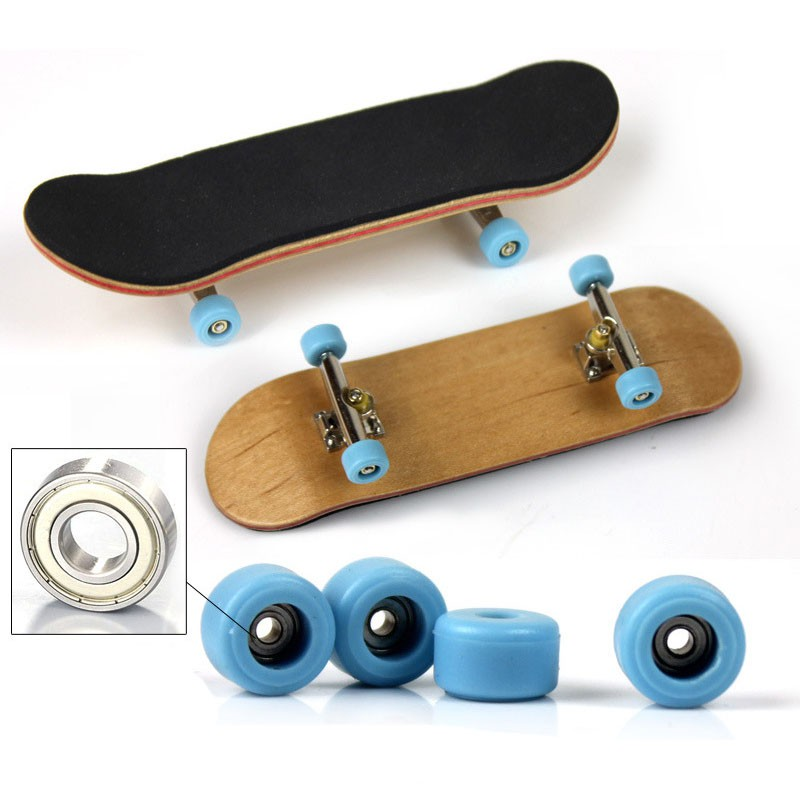 Creative Complete Wooden Fingerboard Finger Skate Grit Foam Tape Canadian Wood