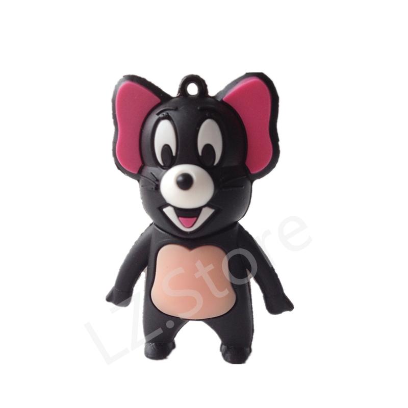 U disk pendrive cartoon Mickey Mouse pendriver 8gb 16gb 32gb 64gb 128gb tom cat pen drive usb flash drive gift external storage(China (Mainland))