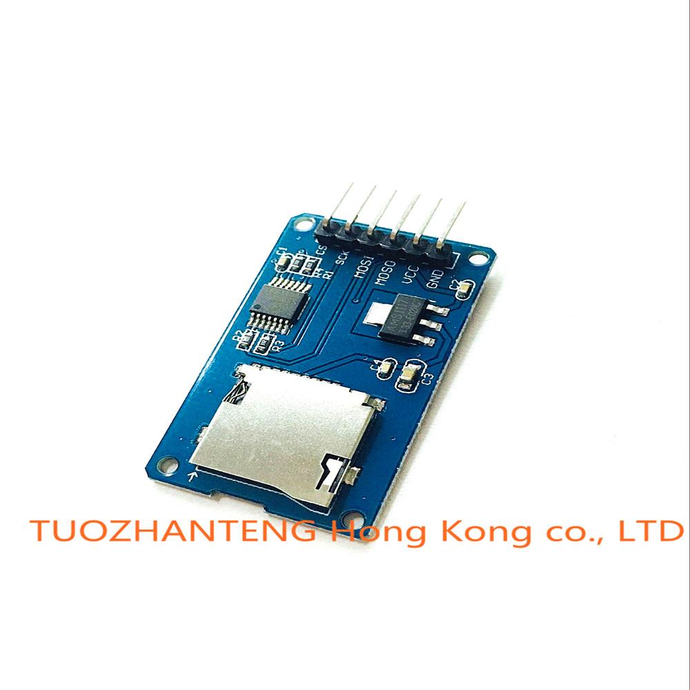 Arduino Compatible Micro Sd Card Mini Tf Reader Module Spi Circuithelp Interfaces