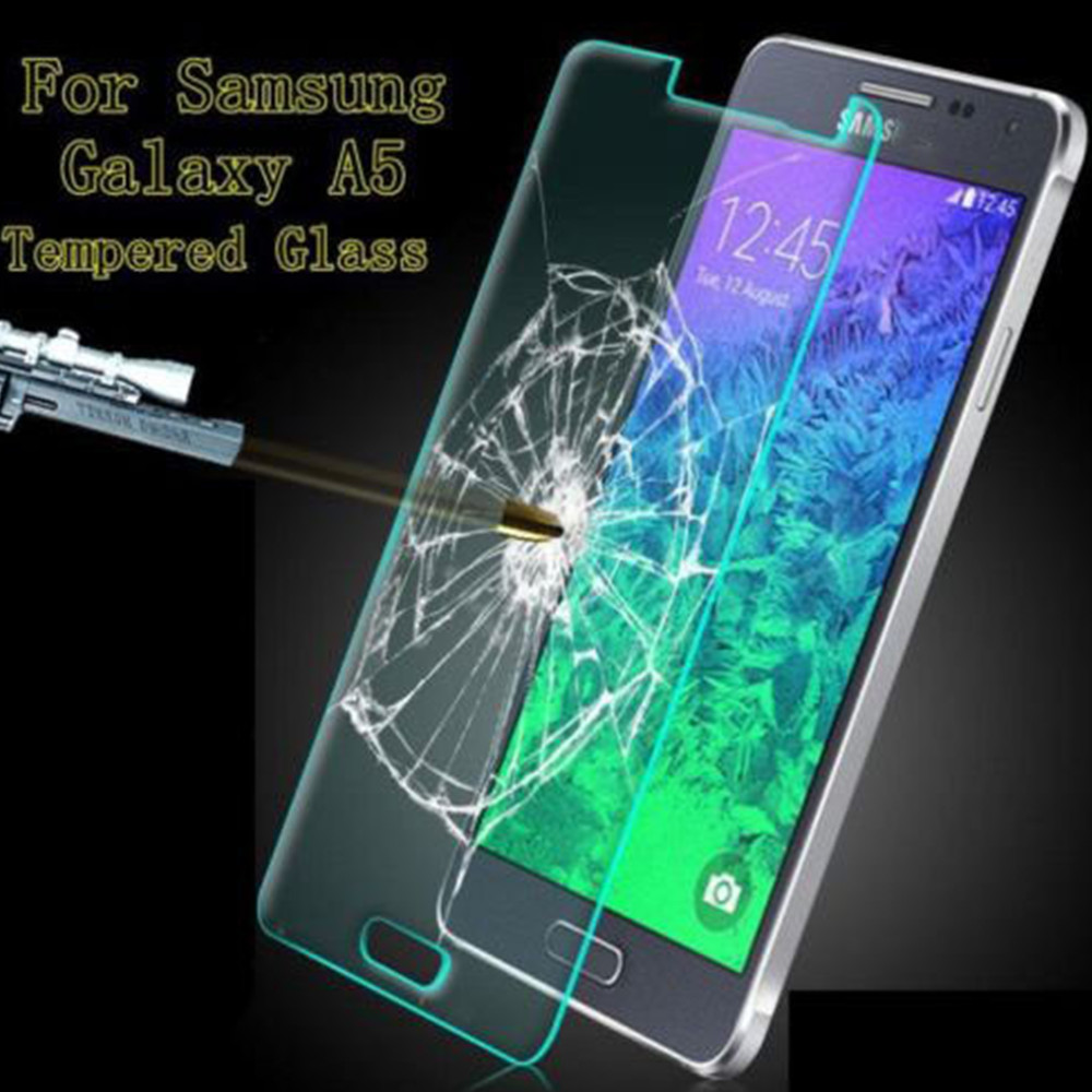 Tempered Glass Screen Protector Samsung A5 Waterproof Toughened Protective Slim Film - yehe68 store