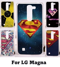 2016 Hard protective Phone case with Superman&woman Medal for LG Magna C90 H520N H502F H500F G4C H525N G4 Mini housing