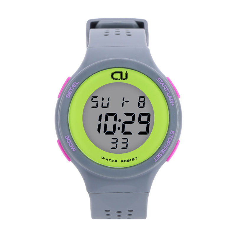 Fashion CU Brand Sports Watch Alarm Military Digital LED Watches For Men and Women Multifunctional Casual Wristwatches(China (Mainland))