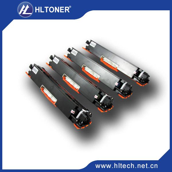 HOT Selling  !!!! CE310A,CE311A ,CE312A,CE313A,Color Toner Cartridge Compatible For HP LaserJet Pro CP1025  4pcs/Lot<br><br>Aliexpress