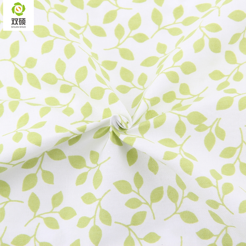 Buy green color cotton fabric kids for Fabrics for children s curtains