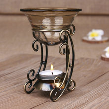 free shipping Iron design restoring ancient ways aromatherapy, diffusion air humidifier essential oil heater K307(China (Mainland))