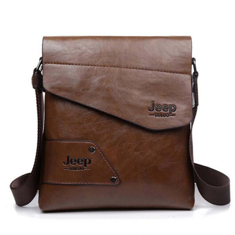 Bag men 2016 famous brands men messenger bags genuine leather bag briefcase designer high quality shoulder bag NB1805(China (Mainland))
