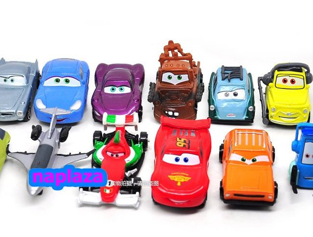 "Free Shipping NEW  Cute Pixar Cars Figures 3"" pvc figure Chlidren  toy Christmas Gift  (11 PCS/set )"