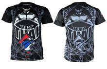 تي شيرت جديد من Muay التايلاندية لعام 2019 مطبوع قميص Mma Rashguard Gi BJJ بأكمام قصيرة جيو جيتسو قميص رجالي للياقة البدنية قمصان الملاكمة(China)