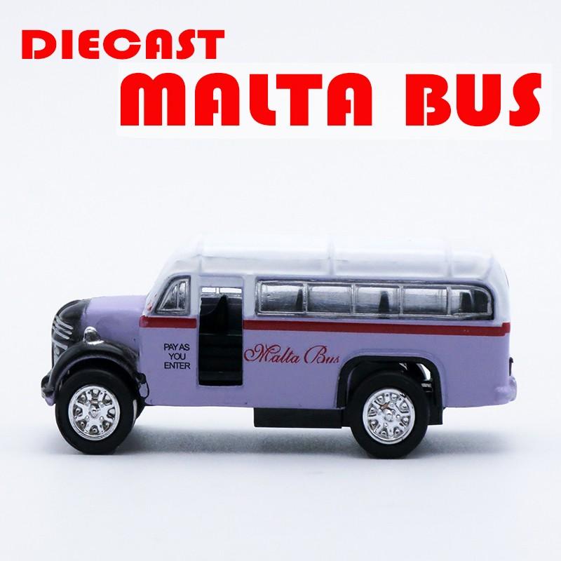 Diecast malta bus2