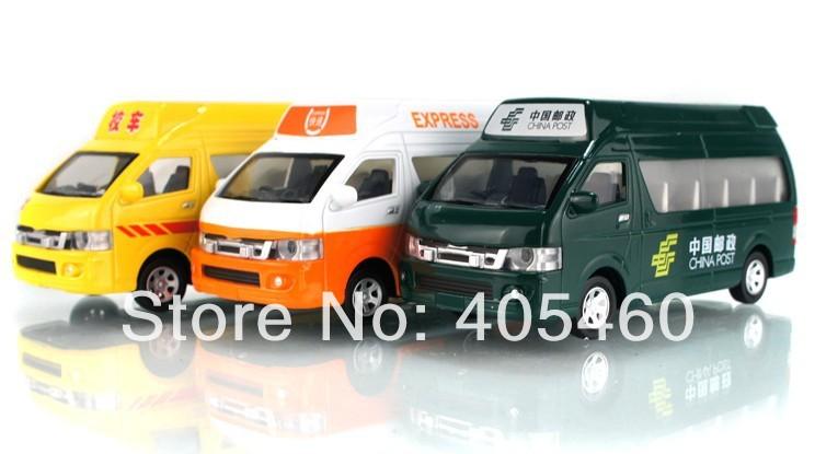 Mail car school bus microbiotic acoustooptical WARRIOR alloy model car toy light&sound mine car toy(China (Mainland))