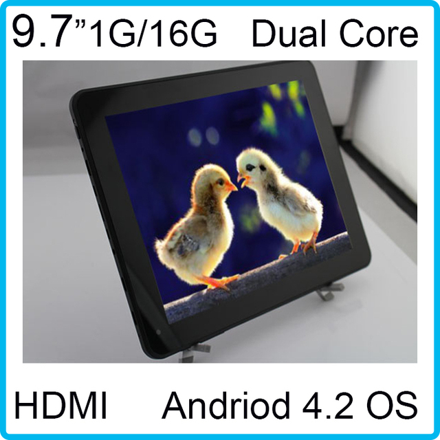 9.7inch HD 1.8GHZ RK3066 IPS Capacitive Screen WIFI Bluetooth Tablets HDMI Dual Core Dual Camera1GB/16GB Andorid tablet pc Mid