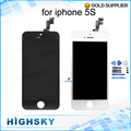 10 Pieces lot Free DHL EMS Shipping For iPhone 5s LCD Display Screen With Touch Frame
