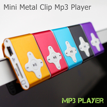 Big promotion Fashion Mini Clips mp3 Player sports Portable mp3 music player media player Supports 1-8GB Micro SD(China (Mainland))