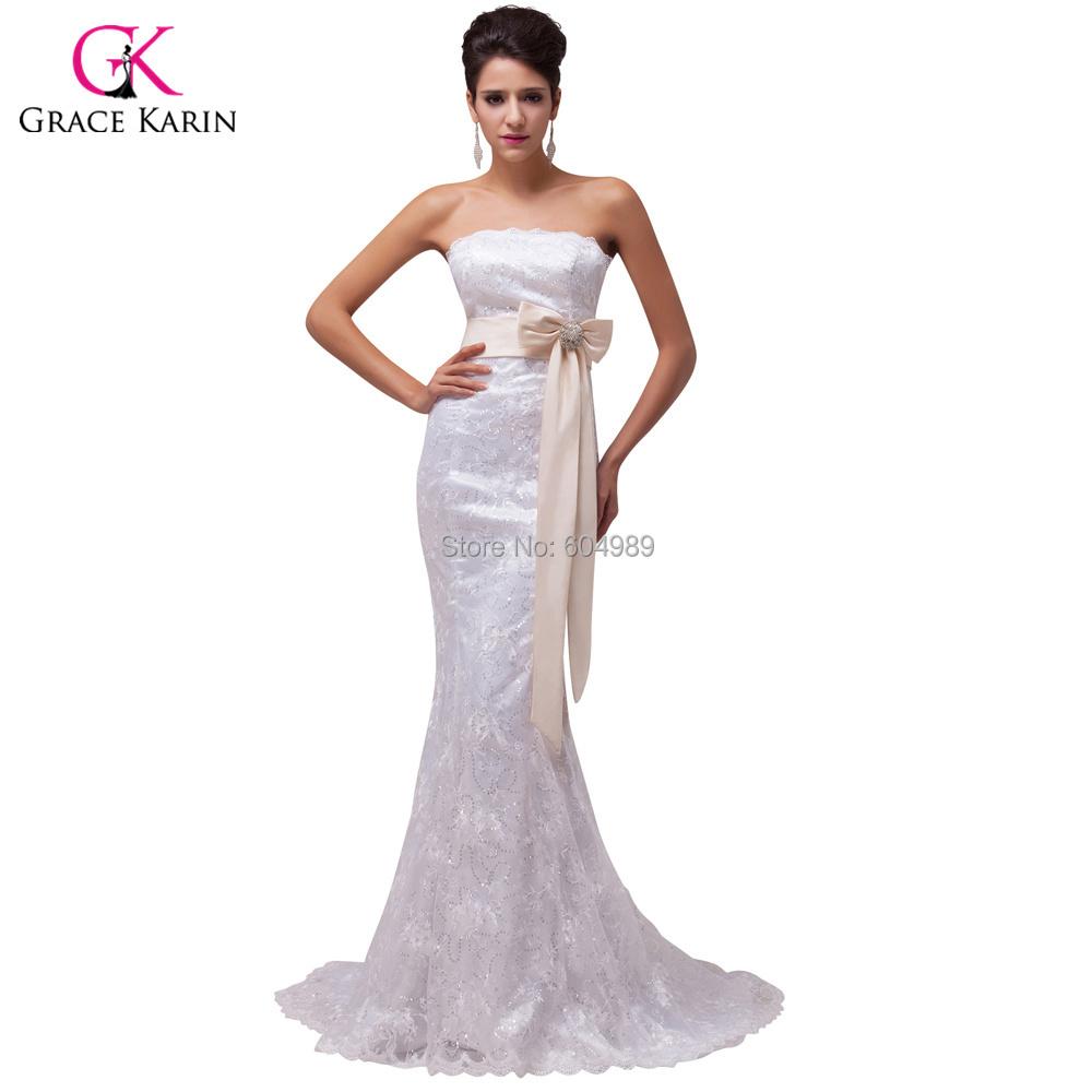 Buy 2015 vestidos de novia grace karin for Wedding dress discount warehouse
