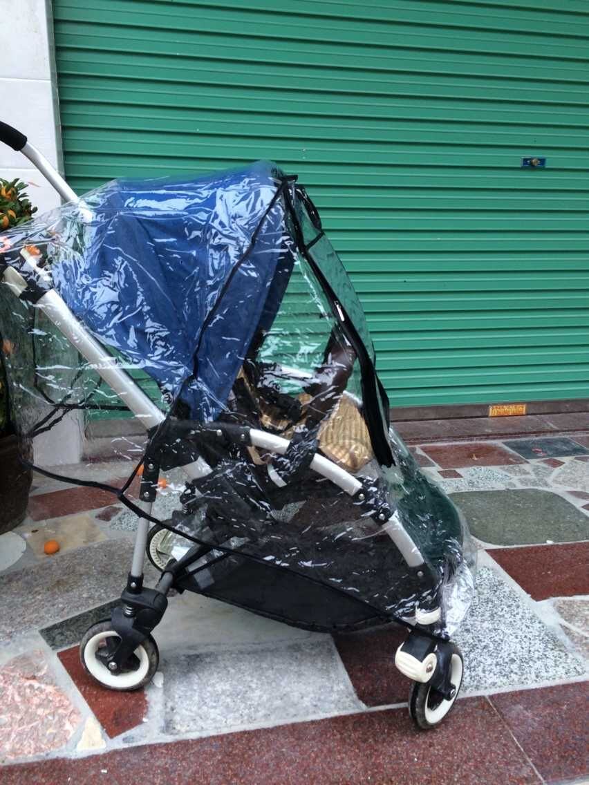 Stroller Accessories:Baby Stroller Rain Cover for Bugaboo Bee+ or Bee3(China (Mainland))