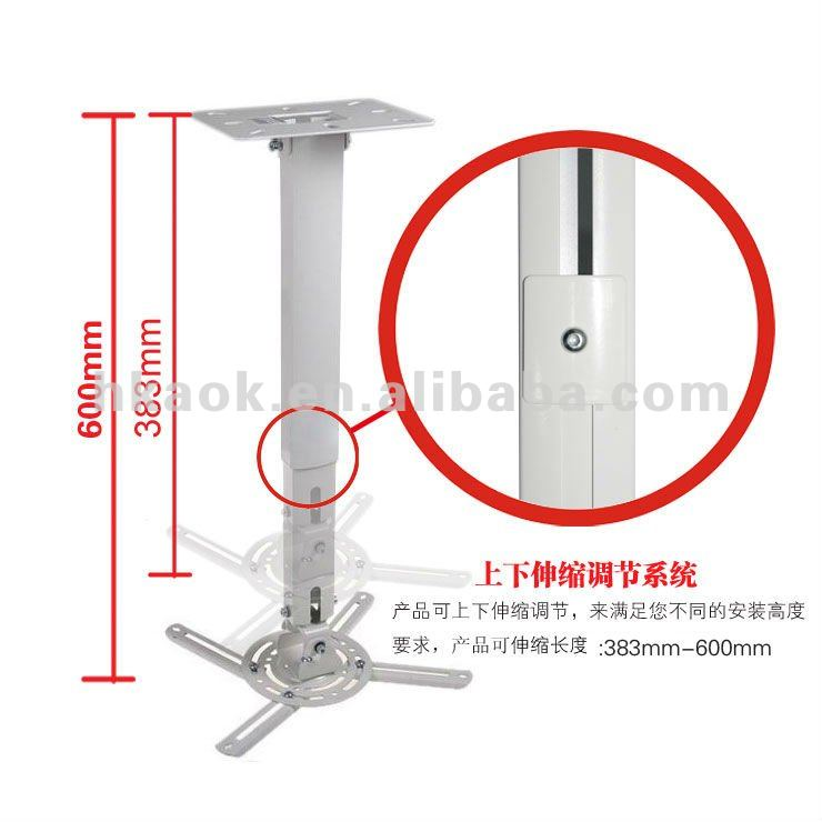 Motorized projector screen ceiling mount for Motorized retractable projector screen