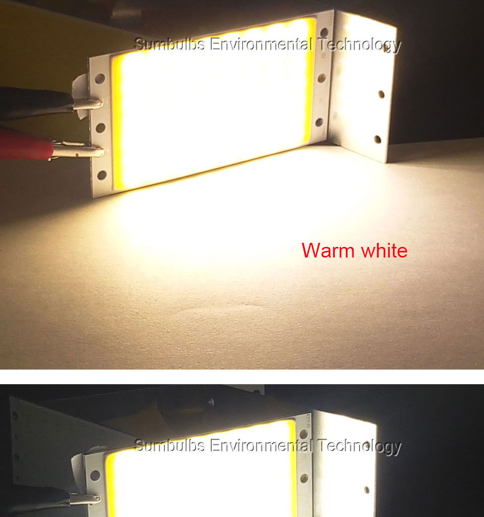 15W LED COB Strip Light Lamp Bulb dc12V warm cold white blue LED  (11)