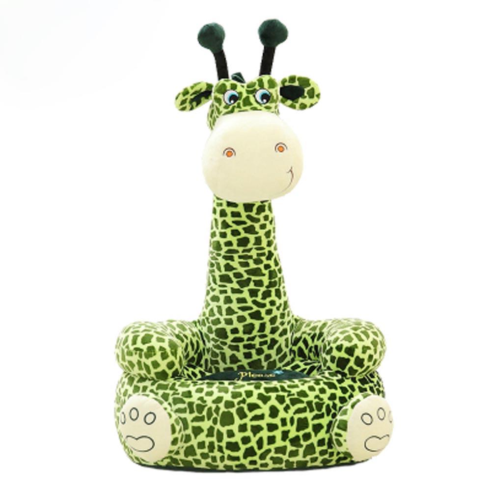 Baby Seat Beanbag Sofa Cute Kawaii Cute Giraffe Children Sofa for Kids Sleeping Bed Baby Nest Puff Chair Bean Bag Plush Toys(China (Mainland))