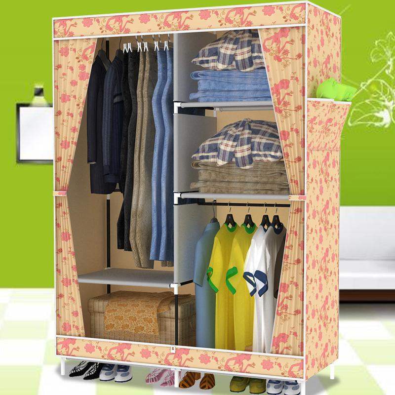 Как сделать шкаф из ткани своими руками 47