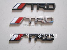 30pieces/lot 3D TRD emblem badges for TOYOTA