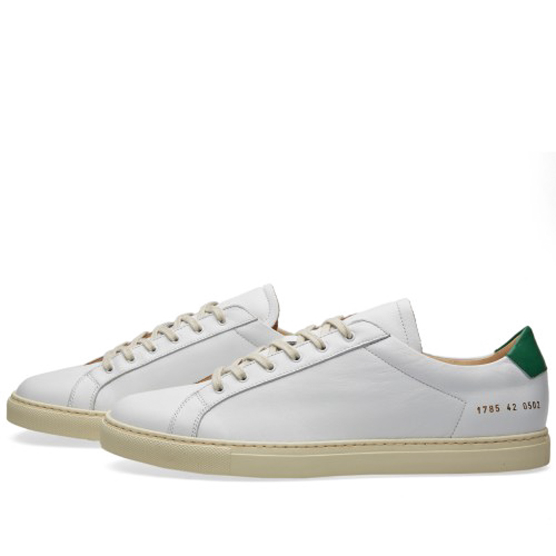 Фотография Shoes Brand Italy Woman By Common Projects Men Spring Autumn Stella White Genuine Leather Sheepskin Casual Shoes Scarpa Da Danna