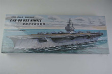 Buy 30CM Warship CVN-68 USS NIMITZ Aircraft Carrier Plastic Assembly Model Electric Toy XC80903 for $21.88 in AliExpress store
