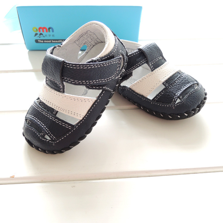 2016 Summer Style OMN Brand Genuine Leather Baby Shoes ...