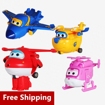 Best Sale 6cm Super Wings ABS Planes Transformation robot toys Airplane Robots Brinquedos Action Figures Toys Gifts For Kids<br><br>Aliexpress