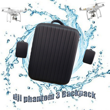 Wholesales 10Pcs/Lot DJI Phantom 3 Waterproof Bag Backpack Easy to Carry for RC Quadcopter Helicopter Drones Parts Backpack Gift
