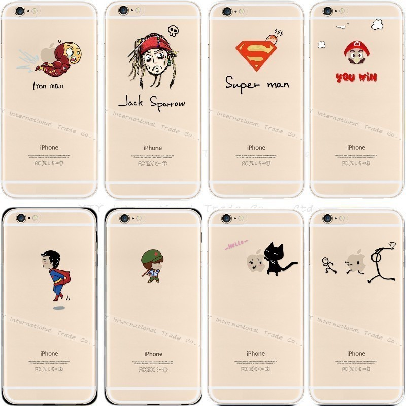 6 6S New Design Hard Back Phone Cover Apple iPhone6S iPhone Case Cases Mobile Cellphone Shell Super Man Best - PHONE-CASE HOME store