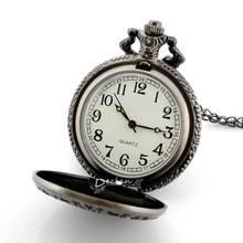 Vintage Antique Long Chain Bracelet Quartz Death Note Pocket Watch Free Shipping Christmas gift P185